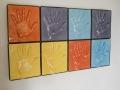 Mani -  Donato Campostrini- ceramica -pannelli composti