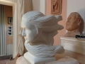Vento -Felice Tagliaferri- scultura in marmo