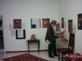 Allestimento mostra 'La sacralità nell'arte '