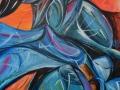 Tormento  -Mario Sepe- acrilico su  tela