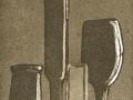 'Silenzio morandiano'-L.Bertazzoni- incisione