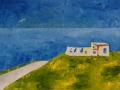 Una casa bianca ....Costantino Cacchione (Il Custa)
