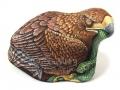 Aquila- Ernestina gallina- sasso  dipinto