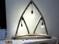 Starweaker - Egidio Becchere -lampada  scolpita in legno