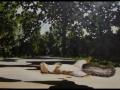 Martiri- Leone Guglielmo  Mingozzi- olio su  tela