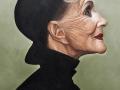 Ritratto di donna con cappello - Roberto Carradori
