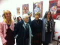 Lo staff  e al centro  gli  artisti Patrizia pacini Laurenti  ,Giancarlo Martelli  .jpg