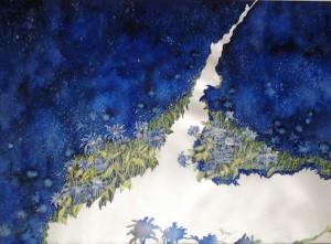 Resterà un fiore? Artista :Patrizia Pacini Laurenti  Acquerello su  carta