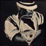 Storie di  ordinaria follia Francesca Morozzi olio su tela