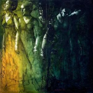 Opera di   Nicoletta Spinelli Tecnica: olio su  misto