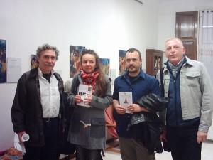 Da sinistra Cesare Pinotti, Carla Righi, Fulvio Faioni  e Saverio Feligini    -Cibo e Lavoro =Dignità - Eventi correlati ad<a href=