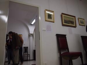 In parete  : Opere di Luigi  Bertelli