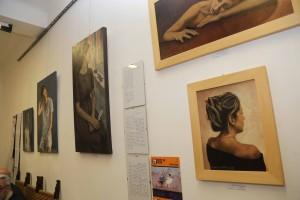 Panoramica opere di  Rita Cardelli