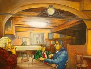 BolognaOsteriaDelSole130x100acrilicoTela2010