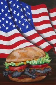 Bombhamburger100x150acrilicoTela2014