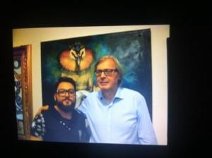 Pasquale Celano con V.Sgarbi