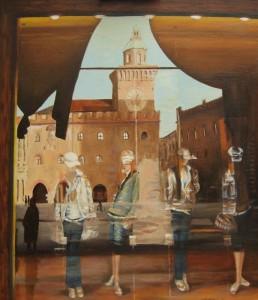 'Riflessi in Piazza Maggiore