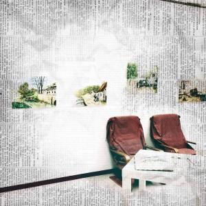I quadri  di  Monique Laville (foto  di  Paolo Bassi )