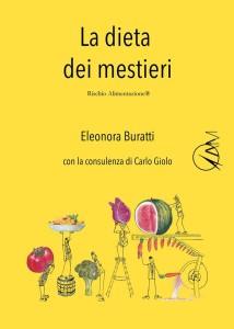 Copertina libro 'La dieta dei mestieri'